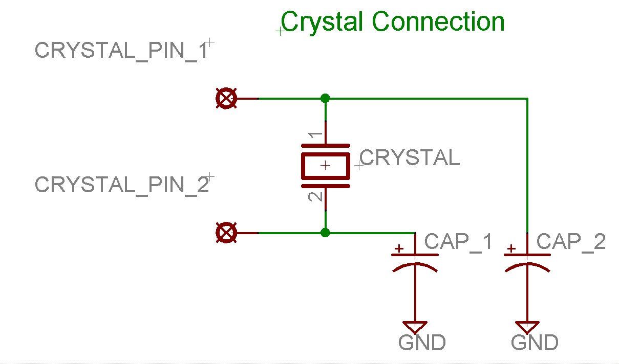 A Problem On Simple Circuit Microchip Crystal Oscillator Schematic Diagram
